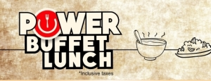 POWER BUFFET LUNCH PACKAGES